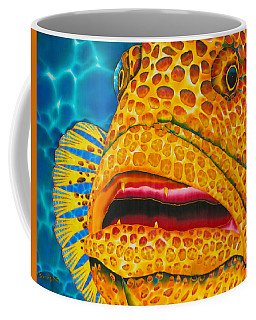 Caribbean Tiger Grouper Coffee Mug