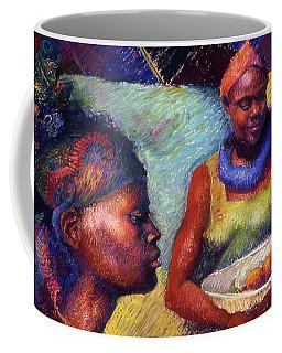 Caribbean Women With Oranges Coffee Mug