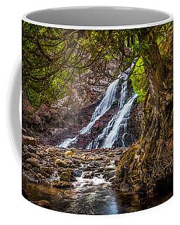 Caribou Falls In Fall Coffee Mug