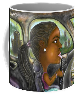 Caricature Ride With Jay Coffee Mug