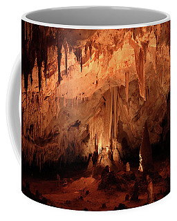 Coffee Mug featuring the photograph Carlsbad Caverns 2 by Marie Leslie