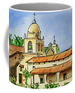 Carmel By The Sea - California Sketchbook Project  Coffee Mug