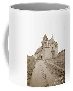 Carmel Mission South Side Circa 1915 Coffee Mug