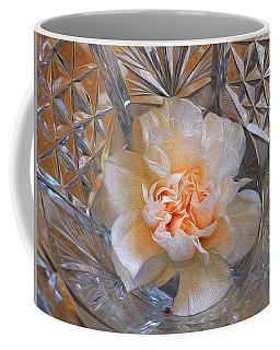 Carnation In Cut Glass 7 Coffee Mug