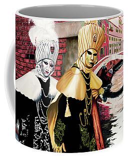 Carnevale Venezia - Prints From Original Oil Painting Coffee Mug
