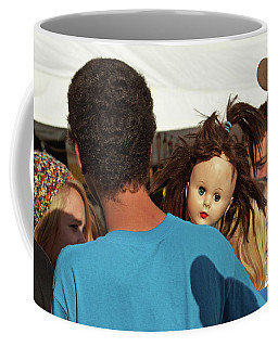 Coffee Mug featuring the photograph Carnival Adoption by Joe Jake Pratt