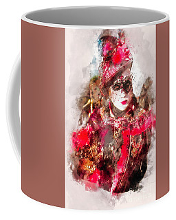 Carnival Beauty Venice Coffee Mug by Jack Torcello