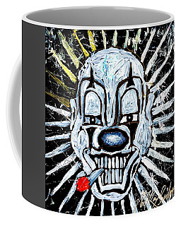 Carnival Clown Coffee Mug