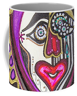 Carnival Face Coffee Mug
