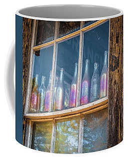Carnival Glass Coffee Mug