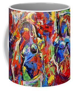 Carnival- Large Work Coffee Mug