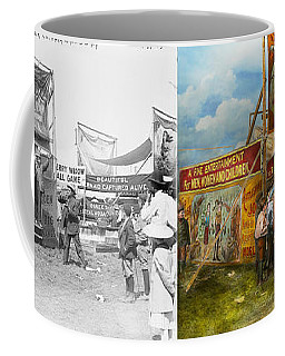 Carnival - Wild Rose And Rattlesnake Joe 1920 - Side By Side Coffee Mug