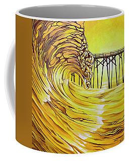 Carolina Beach North End Pier Coffee Mug