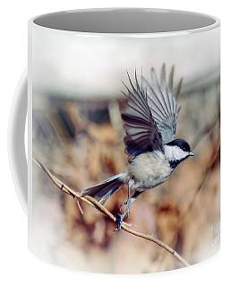 Carolina Chickadee - Come Fly With Me  Coffee Mug