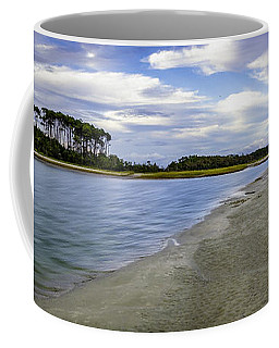 Carolina Inlet At Low Tide Coffee Mug