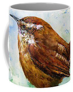 Carolina Wren Large Coffee Mug
