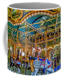 Carousel At Peddlers Village Coffee Mug