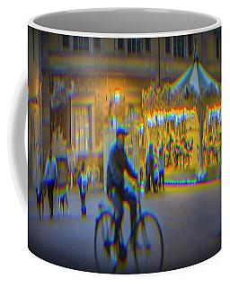 Carousel Lucca Italy Coffee Mug
