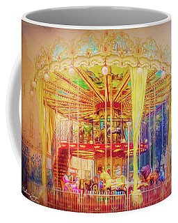 Coffee Mug featuring the photograph Carousel by Wallaroo Images