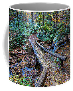 Carpet Of Leaves Coffee Mug by Dale R Carlson