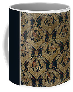 Textile Tapestry Carpet With The Arms Of Rogier De Beaufort Coffee Mug