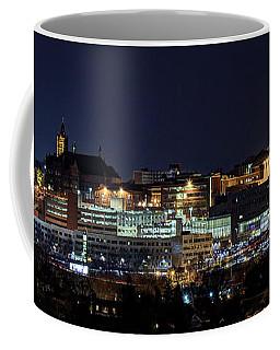 Carrier Dome And Syracuse Skyline Panoramic View Coffee Mug