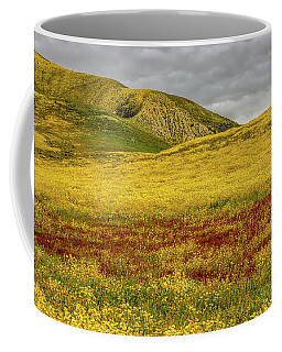 Carrizo  Plain Super Bloom 2017 Coffee Mug by Peter Tellone