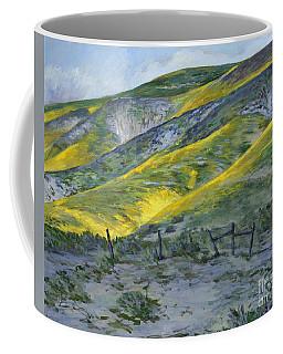 Carrizo Spring Mustard Coffee Mug