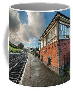 Carrog Signal Box Coffee Mug