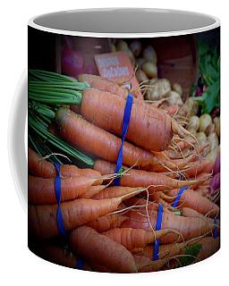 Carrots Vignette At Davis Farmers' Market Coffee Mug