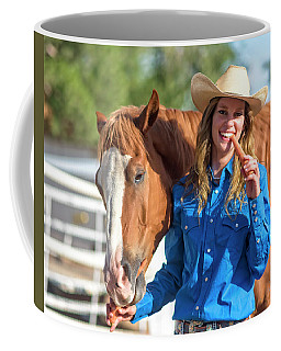 Carrots,cowgirls And Horses  Coffee Mug