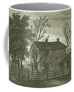 Carthage Il Prison  Scene Of The Death Of Joseph Smith Coffee Mug