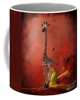 Cartoon Giraffe Coffee Mug