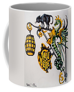 Caru Cu Bere - Antique Shop Sign Coffee Mug