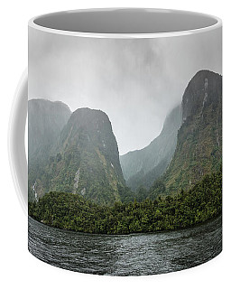 Coffee Mug featuring the photograph Carved By Glaciers by Chris Cousins