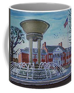 Cary Arts Center And Fountain Coffee Mug