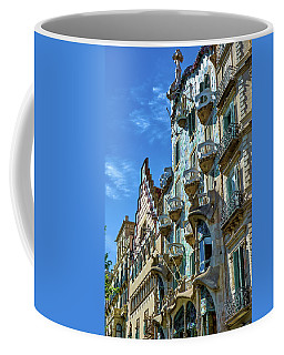 Coffee Mug featuring the photograph Casa Amatller And Casa Batllo by Eduardo Jose Accorinti