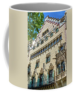 Coffee Mug featuring the photograph Casa Amatller In Barcelona by Eduardo Jose Accorinti