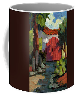 Casa Tecate Gate Coffee Mug by Diane McClary
