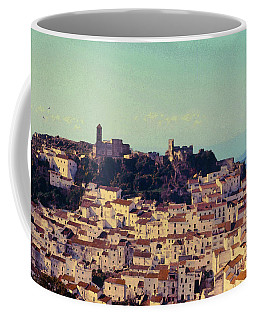 Casares Espana In Golden Light Circa 1972 Coffee Mug