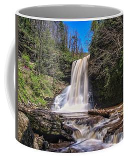 Cascade Falls In Spring Coffee Mug