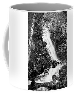 Cascade Falls No. 2, Farmington, Maine #30418-bw Coffee Mug