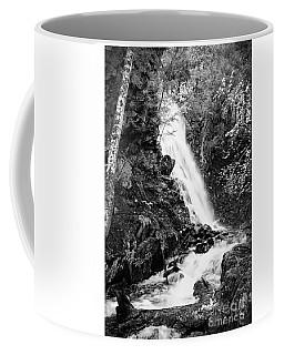 Cascade Falls No. 2, Farmington, Maine #30418-bw Coffee Mug