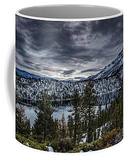 Cascade Lake Winter Coffee Mug by Mitch Shindelbower