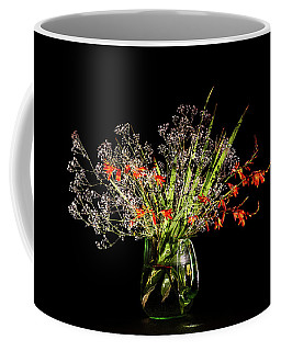 Cascade Of White And Orange. Coffee Mug