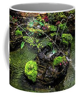 Coffee Mug featuring the photograph Cascades Fountains by Onyonet  Photo Studios