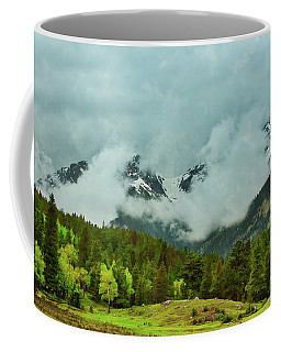 Cascading Storm Clouds Coffee Mug