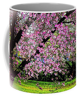Cascading Dogwood Copyright Mary Lee Parker 17, Coffee Mug