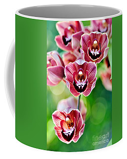 Cascading Miniature Orchids Coffee Mug