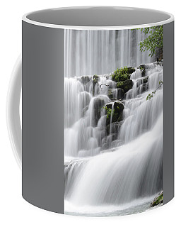 Cascading Mirror Lake Falls Coffee Mug